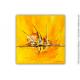 Grande décoration murale jaune : Une journée magique