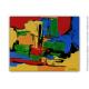 Déco colorée pour intérieur moderne avec le tableau  : Au pays enchanté