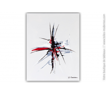 Tableau gris Art Toulouse : Le chemin des rêves