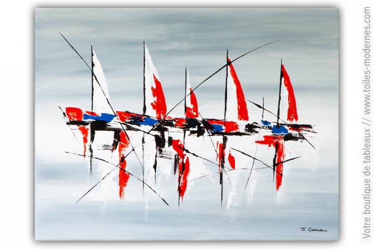 Déco marine moderne et chic : Regard sur l'art
