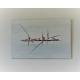 Déco design minimaliste avec un tableau gris moderne : Limpidité