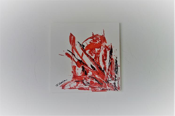 Déco rouge et blanc moderne : Un souffle d'amour