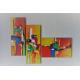 Déco contemporaine multicolore : Spectacle coloré