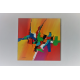 Grande déco murale colorée design : Retour à la gaieté