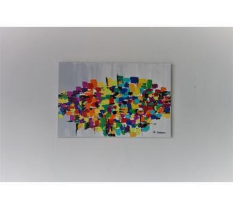 Tableau urbain Art § Déco : L'alchimie des couleurs