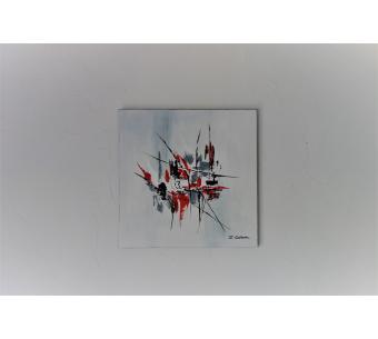 Art§Déco tableau gris : Place à l'imprévu