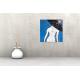 Tableau CEREMONIE(tableau bleu) moderne