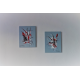 Tableaux peintures abstraites grises art minimal : L'espace infini