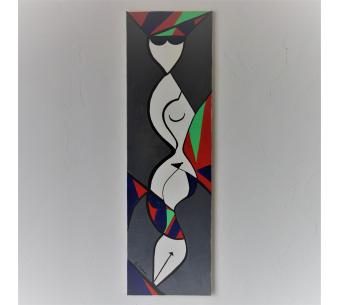 Peinture nu moderne pour déco design : Volupté