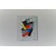 Peinture sur toile abstraite contemporaine : Vive la liberté