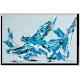 Tableau MESSAGE (tableau bleu) moderne