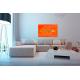 Tableau VOYAGE IMPREVU (tableau orange) moderne