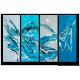 Tableau BLUE DREAM (quadriptyque bleu) moderne