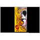 Tableau LUNE DE MIEL EN ANDALOUSIE (tableau jaune) moderne