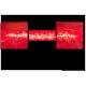 Tableau VOYAGE AU BOUT DU MONDE (triptyque rouge) moderne