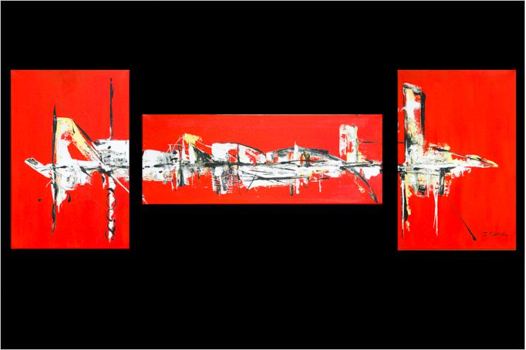 Ville rouge (triptyque rouge)