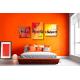 tableau chambre moderne colorée Vacances sous les tropiques