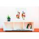 Tableau aménagement pièce à vivre Constructions colorées